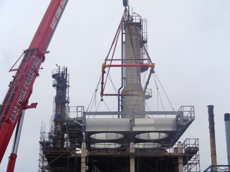 Irving Oil Refinery   Kenneally Steel Fabrication