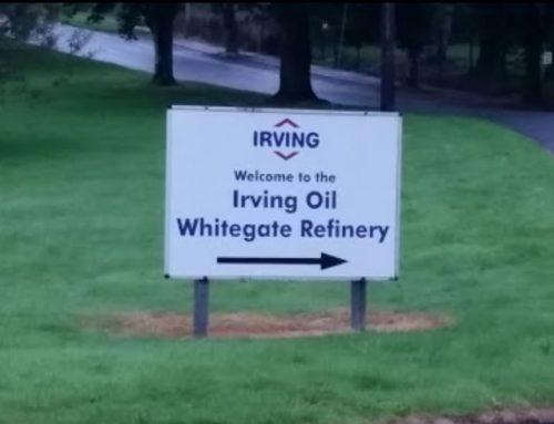 Irving Oil 5 Year Shutdown