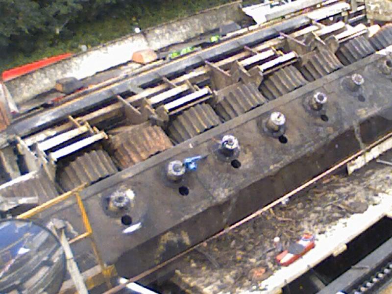 Glennon Brothers Log Feeding System | Kenneally Steel Fabrication