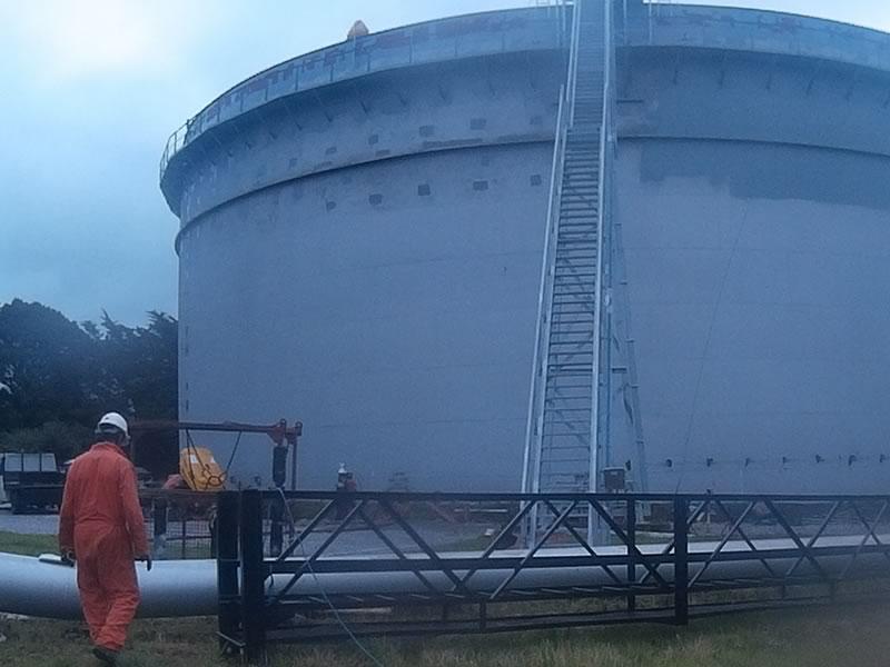 Irving Oil Whitegate Refinery   Kenneally Steel Fabrication