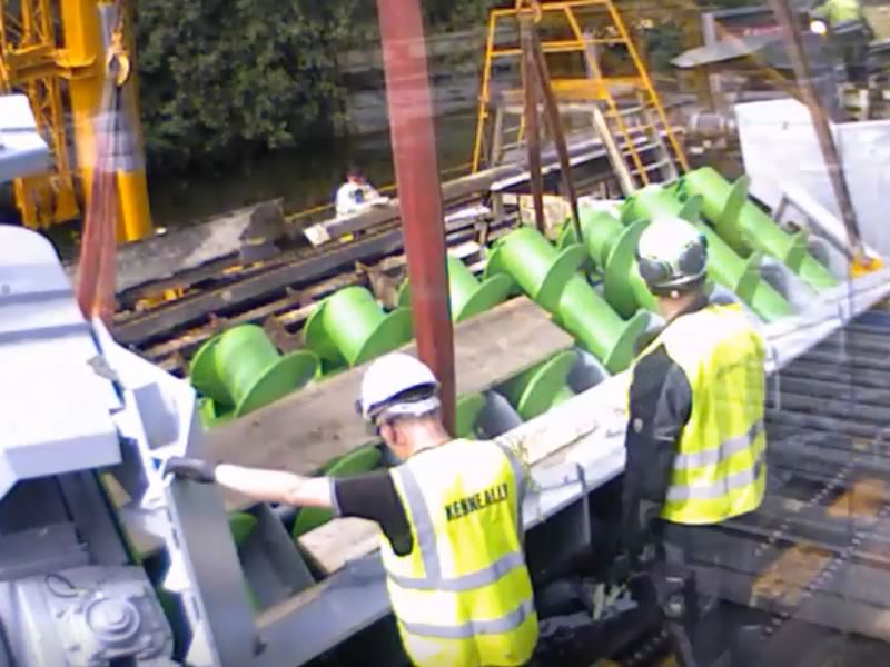 Glennon Brothers Screw Feeder   Kenneally Steel Fabrication